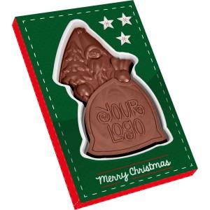 Čokoláda ve tvaru Santa Clause