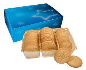 Sušenky s logem v krabičce s vlastním designem