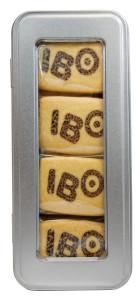 Sušenky s potiskem v plechové krabičce