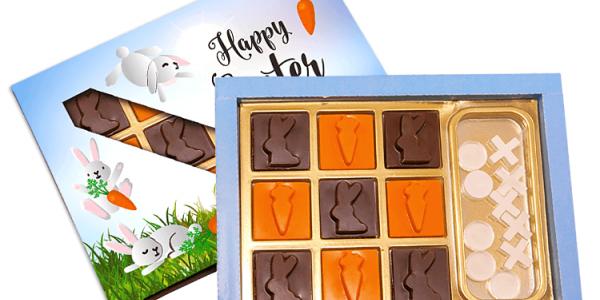 Velikonoční čokoládová krabička