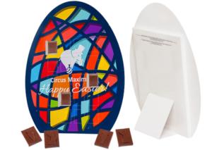 Čokoládky ve velikonočním vajíčku