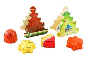 Čokoládka v mini vánoční krabičce