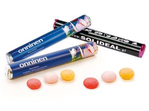 Žvýkací bonbóny v tubičce