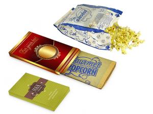 Reklamní popcorn do mikrovlnné trouby