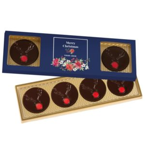 Vánoční bonboniéra v reklamní krabičce