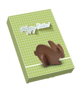 Čokoládové 3D puzzle - zajíček