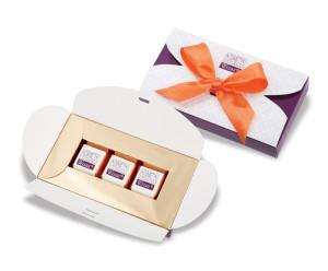 Čokoládové bonbóny v elegantní krabičce