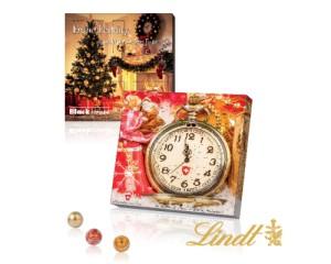 Aventní kalendář s Lindt kuličkami