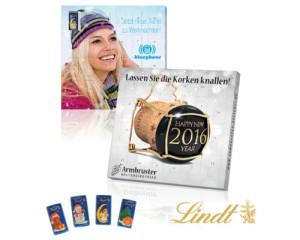Aventní kalendář s čokoládkami Lindt