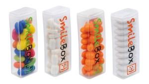 Průhledná krabička s cukrovinkami