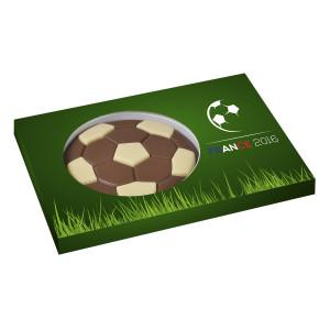 Dvoubarevný čokoládový míč