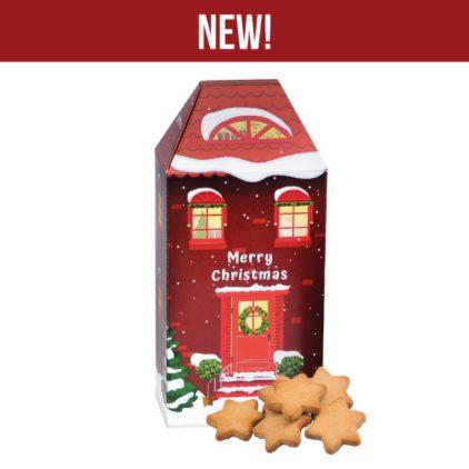 Vánoční dům-Vánoční zázvorové cukroví