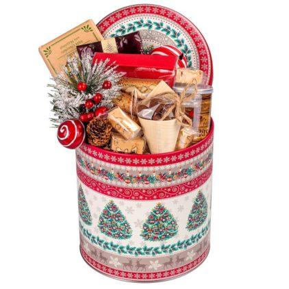 Arašídy vkaramelu, vánoční čaj, vánoční lízátko