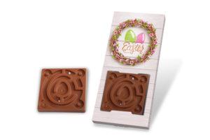 Velikonoční čokoládový labyrint