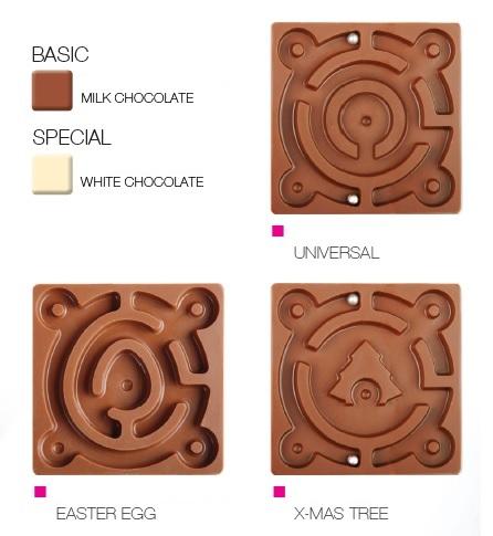 Čokoládový labyrint - CHOCOLATE LABYRINT