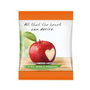 Sáček s jablečným mini-snackem