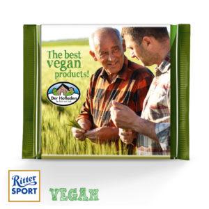 Veganská propagační čokoláda Ritter SPORT