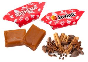Vánoční karamelky s příchutí perníkového koření