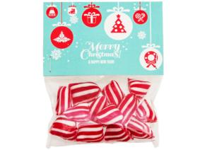 Vánoční ovocné reklamní bonbóny