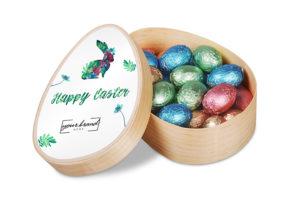 Čokoládová plněná vajíčka