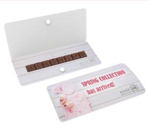 Čokoládová tyčinka s individuálním textem