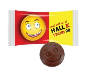 Čokoládový smajlík