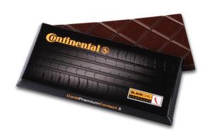 100g čokolády v krabičce