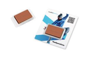 Brožura s čokoládou