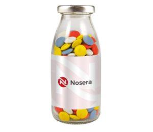 Konfety - lahvička s lentilkami