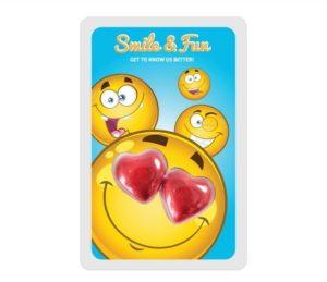 Promo karta dvě srdce