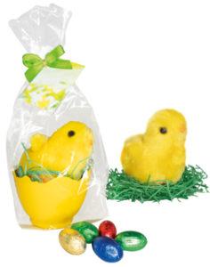 Čokoládová vajíčka s kuřátkem
