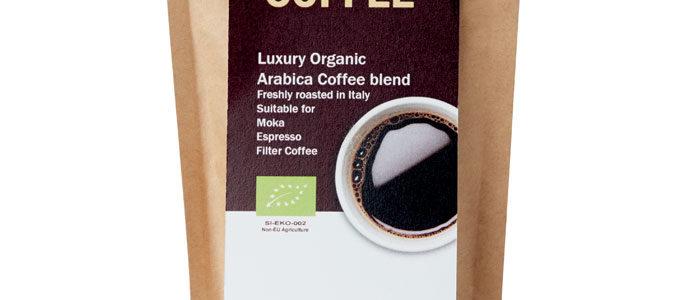 Bio kávová zrna Arabica