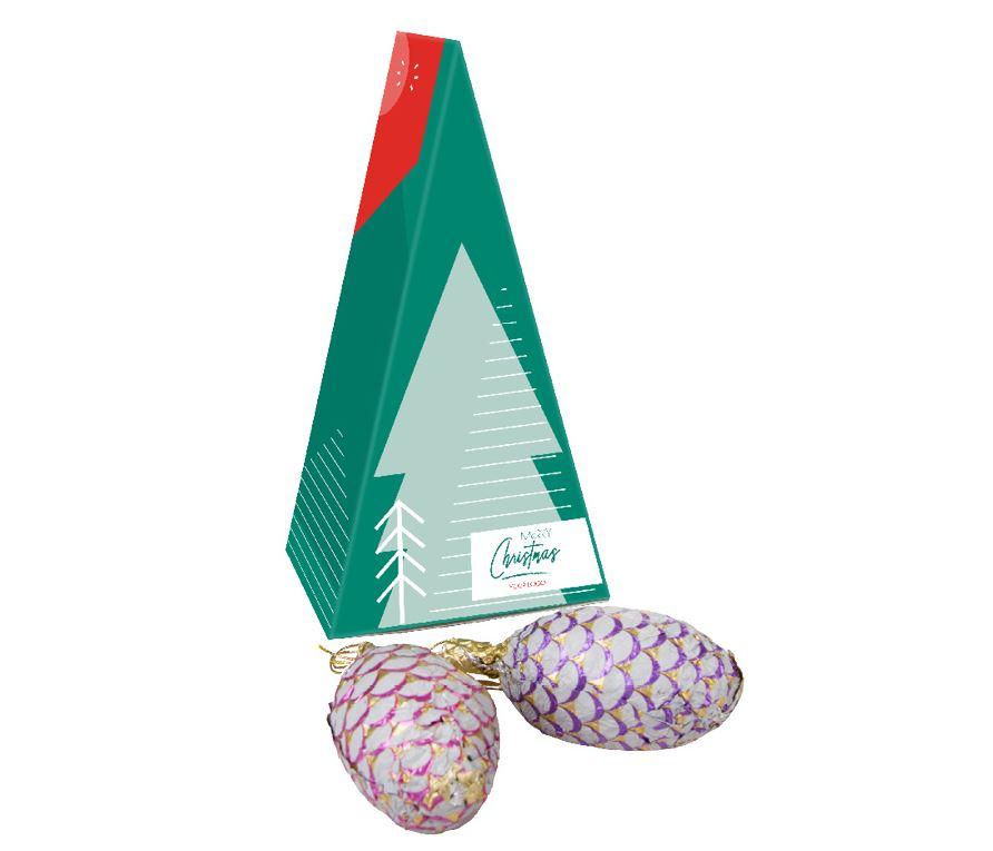 Čokoládové šišky na vánoční stromeček