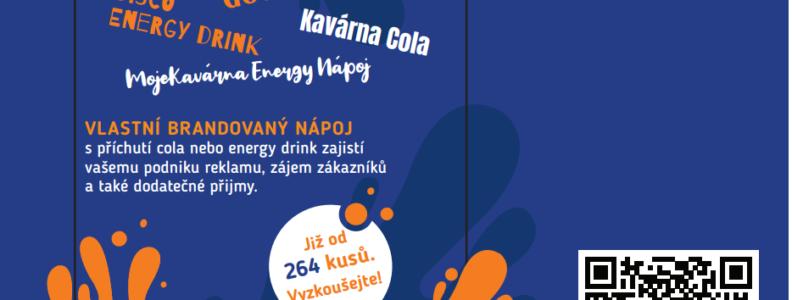 Reklamní nápoj COLA