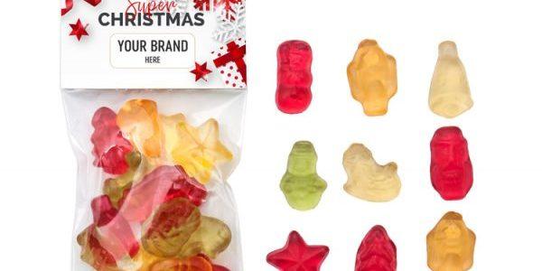 Vánoční ovocné želé XS