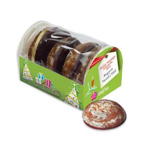 Perníčky polité čokoládou v krabičce s vlastním potiskem