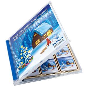 Čokoládky Neapolitan v CD obalu