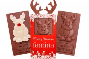 Čokoládový vánoční sob