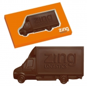 Čokoládový náklaďák s vlastním potiskem