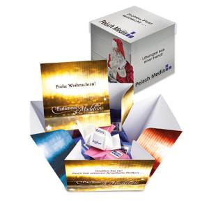 Reklamní dárková krabička s 10 čokoládkami Ritter SPORT